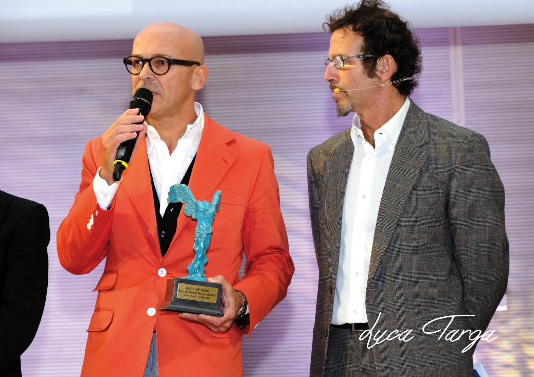 Premio alla carriera Mediastars per Luca Targa