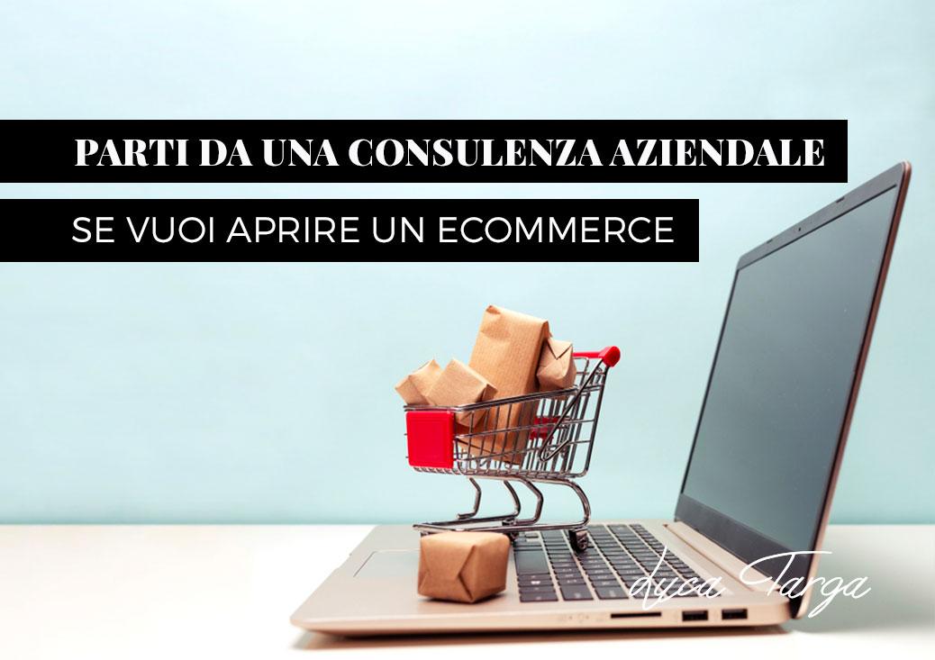 Parti da una consulenza aziendale se vuoi aprire un eCommerce